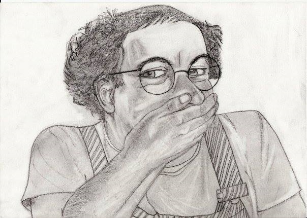 Coluche by Lwize